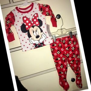 Disney Matching Sets - Baby girl 2-piece Minnie Mouse Outfit🎈 NWT🎈